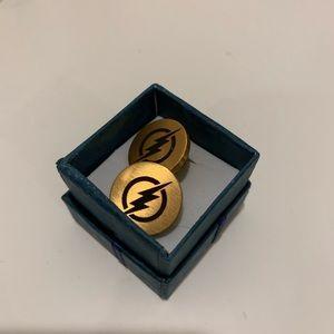 Other - Custom Flash Gold Plated Cufflinks